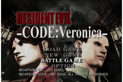 Battle Game (CODE: Veronica) - Resident Evil Wiki - The ...