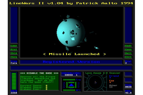 Line Wars II Download (1994 Arcade action Game)