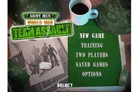 Army Men World War Team Assault PS1 ISO | Free Download ...