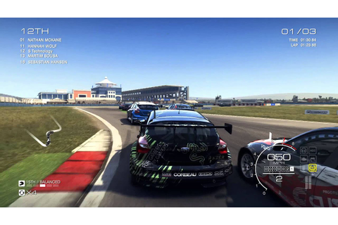 GRID: Autosport PC gameplay at 1080p max settings - YouTube