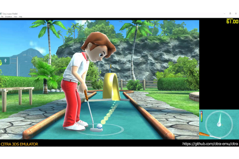 Citra 3DS Emulator - Fun! Fun! Minigolf TOUCH! ingame ...