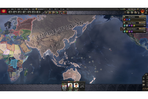 Redrew the map of Europe as Japan. (Millenium Dawn) : hoi4