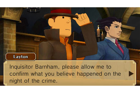 Review: Professor Layton vs Phoenix Wright: Ace Attorney