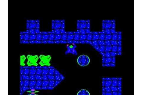 BBC Micro game Ravenskull - YouTube