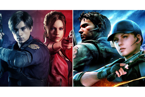 Every Game In The Resident Evil Series Ranked On Campaign ...