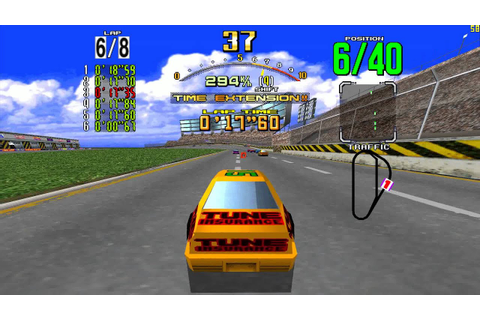 Daytona USA (video arcade game) - YouTube