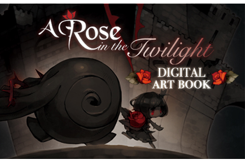 A Rose in the Twilight - Digital Art Book | wingamestore.com