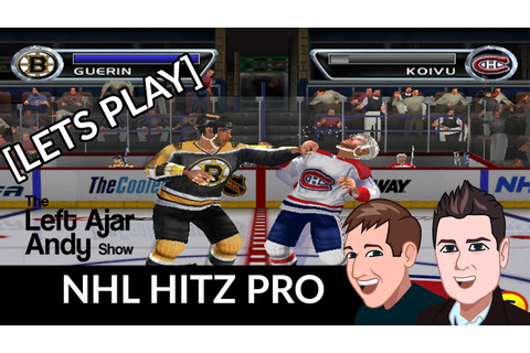 NHL Hitz Pro on The PS2 - YouTube