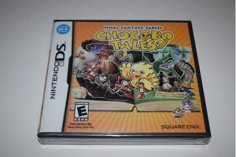 Final Fantasy Fables Chocobo Tales Nintendo DS Video Game ...