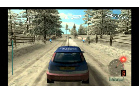 Classic Game Room - SEGA RALLY 2006 for PS2 review - YouTube