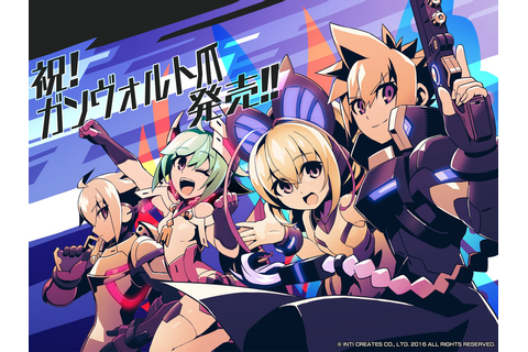 Azure Striker Gunvolt 2: footage, OST previews (+ album ...
