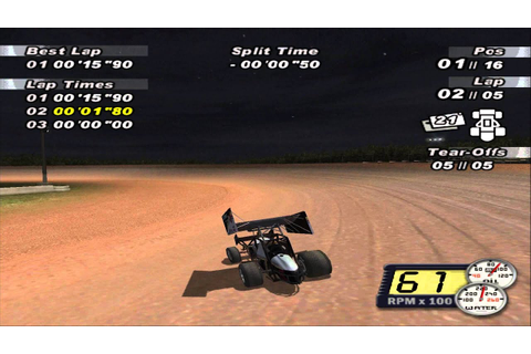 World Of Outlaws Sprint Cars 2002 Gameplay (PC) - YouTube