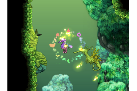 Let's talk about Aquaria, the underwater Metroidvania game ...