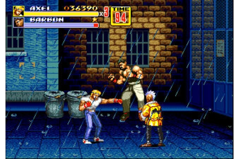 3D Streets of Rage 2 Review - 3DS - The Gamers' Temple