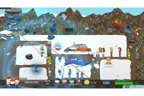 South Park Let's Go Tower Defense Play! - screenshots ...