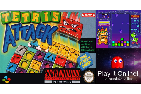 Play Tetris Attack on Super Nintendo