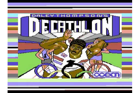 Daley Thompson's Decathlon - 1980s Game at SimplyEighties.com