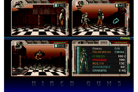 Hired Guns - The Company - Classic Amiga Games