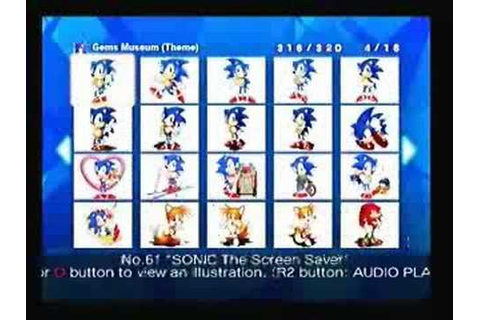 100% complete-Sonic Gems Collection - YouTube
