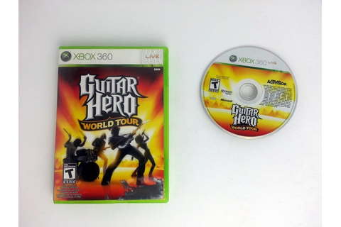 Guitar Hero World Tour (game only) game for Xbox 360 | The ...