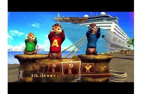 Alvin and the Chipmunks 3 Chipwrecked Video Game - YouTube