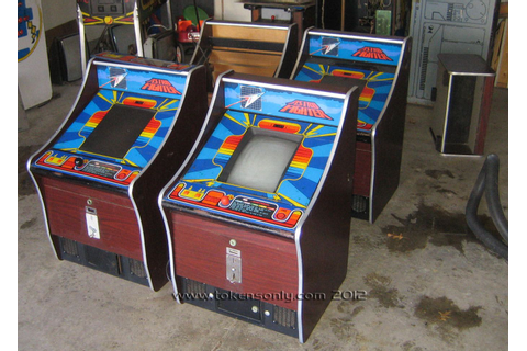 Astro Fighter bar top machines. | 70s and 80s video arcade ...