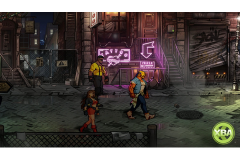 Streets of Rage 4 To Feature Unlockable Pixel-Art Retro ...