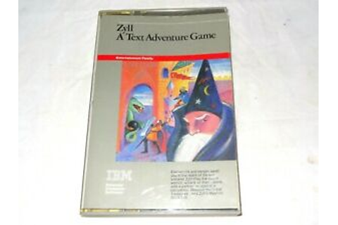 IBM Zyll A Text Adventure PC Game 1984 Demo Version 1.0 w ...