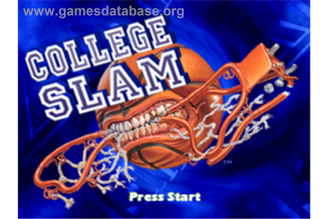 College Slam - Sony Playstation - Games Database