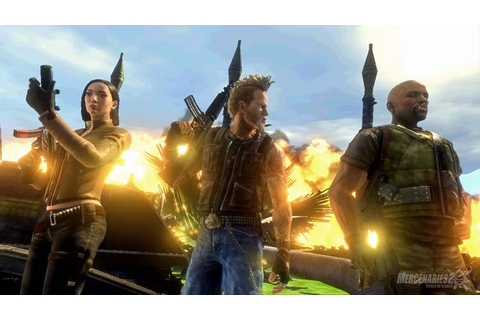 Amazon.com: Mercenaries 2: World in Flames - Xbox 360 ...