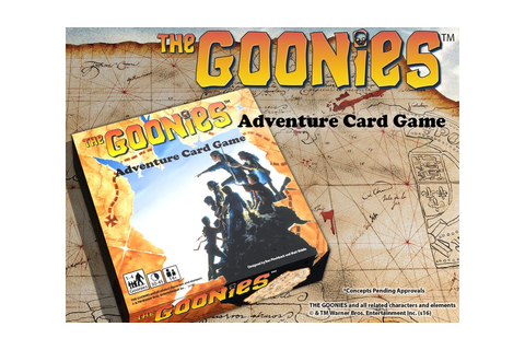 The Goonies: Adventure Card Game by Albino Dragon —Kickstarter