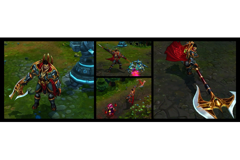 Lord Darius - League of Legends skin - LoL Skin Info