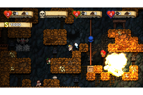 Spelunky on XBLA will have four player local multiplayer ...