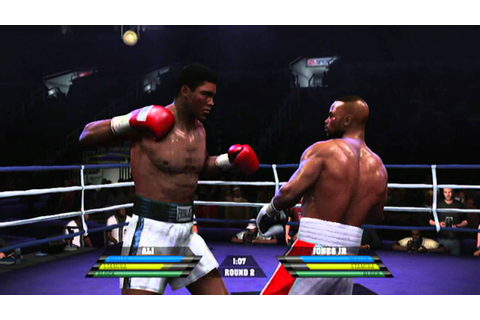 Fight Night Round 4 (Gameplay/Commentary) Ali vs Jr - YouTube