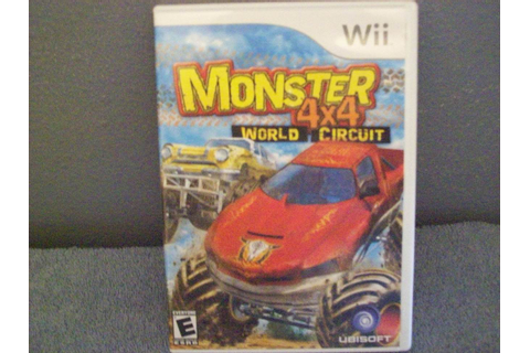 GAME DISC Monster 4x4: World Circuit Wii - Video Games