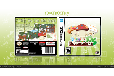 Boing! Docomodake DS Nintendo DS Box Art Cover by ravenrooney