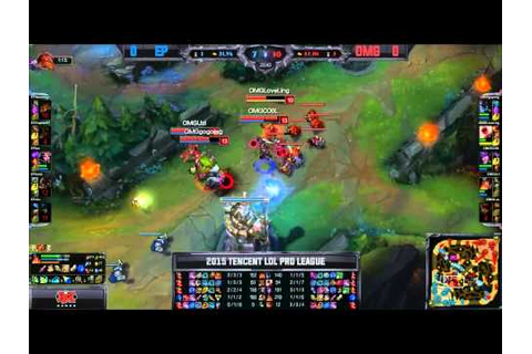 LPL Spring W1D3 OMG vs Energy Peacemaker Game 1 Highlights ...