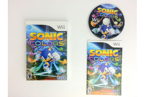 Sonic Colors game for Wii (Complete) | The Game Guy
