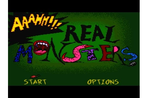 That's So 90s! AAAHH!!! Real Monsters Game Review - YouTube
