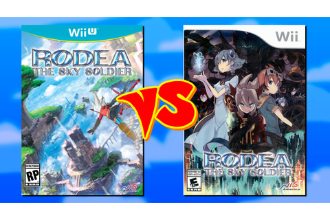 Comparison: Rodea the Sky Soldier (Wii vs. Wii U) - YouTube