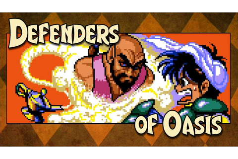 Defenders of Oasis Review - Unepic Adventures for the Sega ...