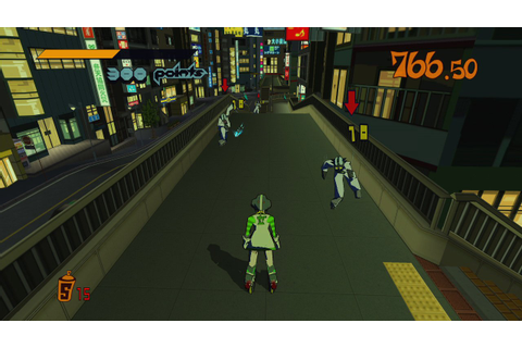 First Jet Set Radio HD Screenshots Get Scratching - Push ...