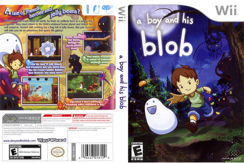 DOWNLOAD Wii A boy and his BloB ( PAL ) ~ ROGER GAMES