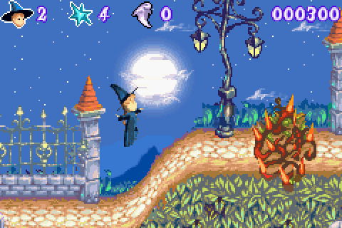 VGJUNK: CASTLEWEEN / SPIRITS & SPELLS (GAME BOY ADVANCE)