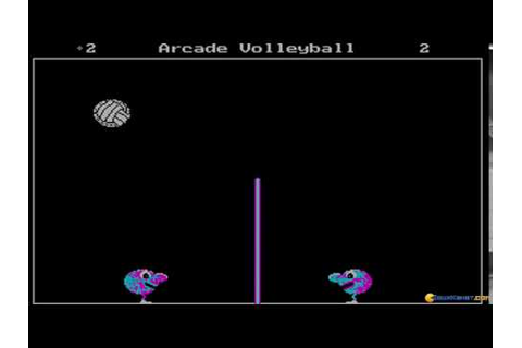 Arcade Volleyball gameplay (PC Game, 1987) - YouTube