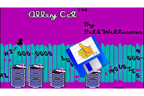 Retro Game Tip - Alley Cat - YouTube