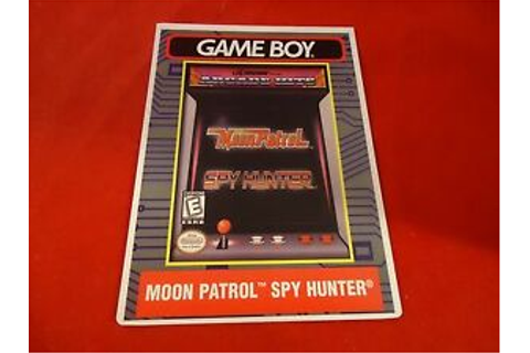 Moon Patrol / Spy Hunter Nintendo Game Boy Vidpro ...