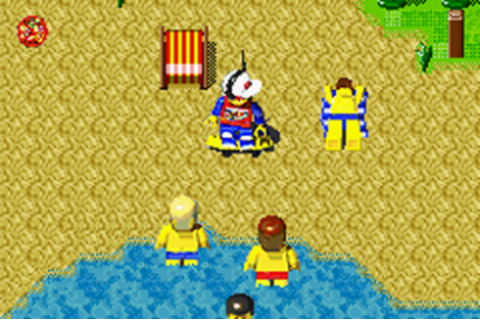 L'ile Lego 2: La revanone de caibrio | Game Boy Advance ...