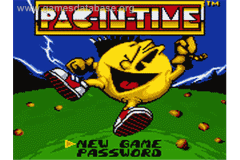 Pac-in-Time - Sega Game Gear - Games Database
