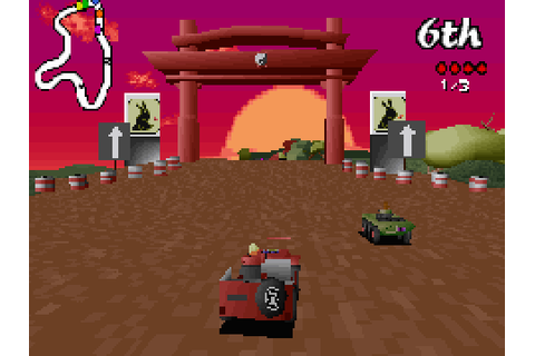 Big Red Racing (1996) by Big Red Software MS-DOS game
